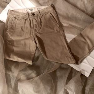 🔥 ABERCROMBIE *CHINO PANTS* PRISTINE CONDITION!